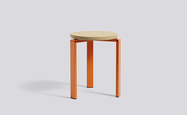 Faudet-HarrisonWH Stanley Stool orange 01