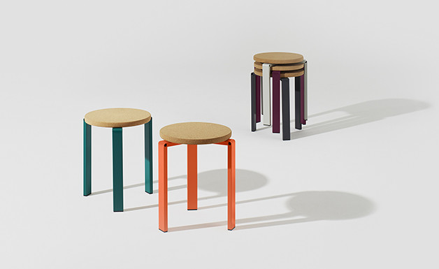 Faudet-Harrison_Stanley Stool stacked