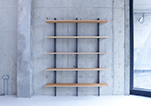 Crosscut-shelves-by-Faudet-Harrison-3-upright-5-shelves-for-SCP-tumb